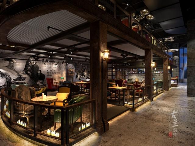 成都咖啡厅设计 | ETC咖啡厅设计案例—古兰装饰