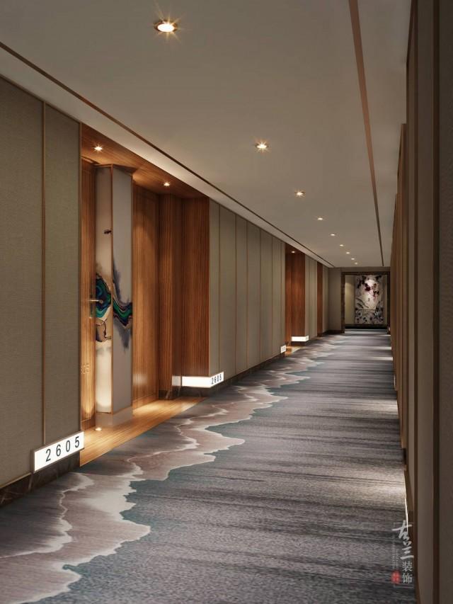 项目说明:该项目位于龙泉师大现代花园24层、25层。24层主要是酒店层,设计上主要是突出简单、时尚、个性,不仅满足人们丰富的情感生活和高层次的精神享受。25层主要是茶楼、水吧、咖啡层,现代人们生活节奏快压力大,到一些场所来更多的是想享受休闲,得到放松。所以设计上以简单舒适为主,使顾客感到轻松休闲的感觉。
