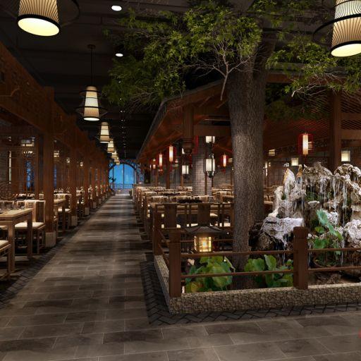 哈尔滨火锅店设计