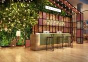 成都餐厅设计公司 | 银石广场花园餐