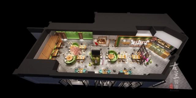 成都餐厅设计公司|最花城风味牛肉馆花园餐厅设计案例赏析