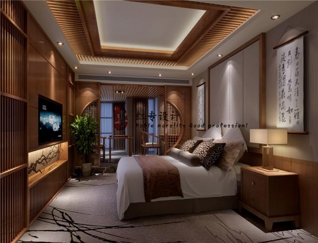 佛山五星级酒店设计公司|茗山居酒店
