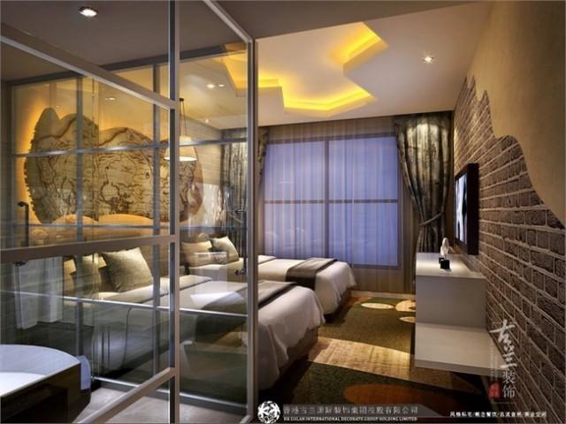 """项目说明:该项目一家主题酒店,酒店里的每个房间都有不同的主题,房型设计与室内装饰能让消费者在""""逸美""""每天换一间房住,能让您在一个月,经历奇幻世界、浪漫春天、外太空旅行、甚至时空穿越。酒店人性化的服务,让消费者有中家的感觉,整体设计符合客户经营理念,细节效果得到客户认可。"""
