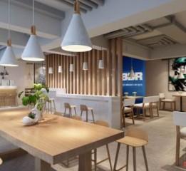 重庆餐厅设计 | BBR牛腩饭快餐厅设计