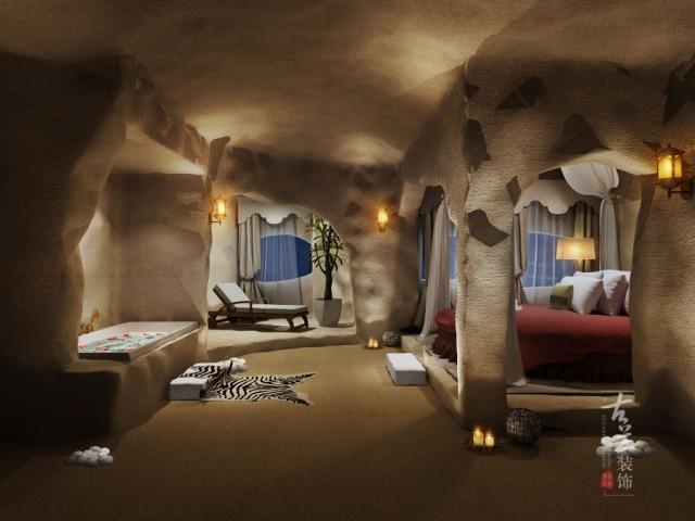 泸州洞穴主题精品酒店设计案例|专业致力于泸州酒店设计,泸州酒店施工