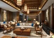 禅式文化主题酒店设计 成都专业主题