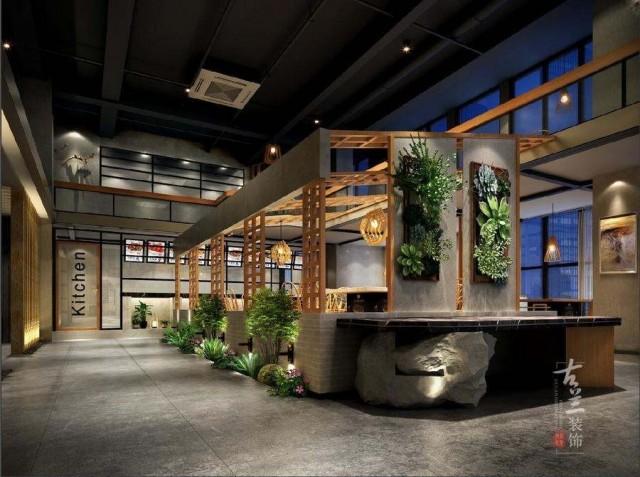 项目说明:甲方想打造一家简洁大方有特色的一家火锅店。我们根据项目现场情况、周围环境、针对的消费群体和甲方经营模式理念结合综合考虑进行设计。设计风格我以工业风结合新中式的一些元素,多以木制来打造室内空间。