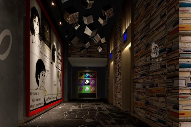内江四星级酒店设计公司|红专设计