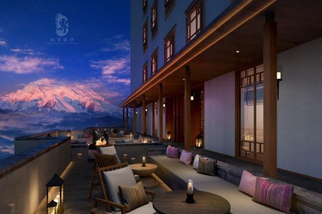 湖北专业酒店设计公司|锅庄温泉度假酒店