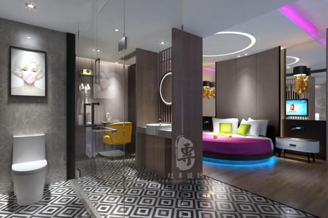 衡阳星级酒店设计公司|红专设计