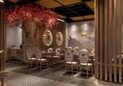 兰州餐厅设计装修公司|湘悦楼餐厅装