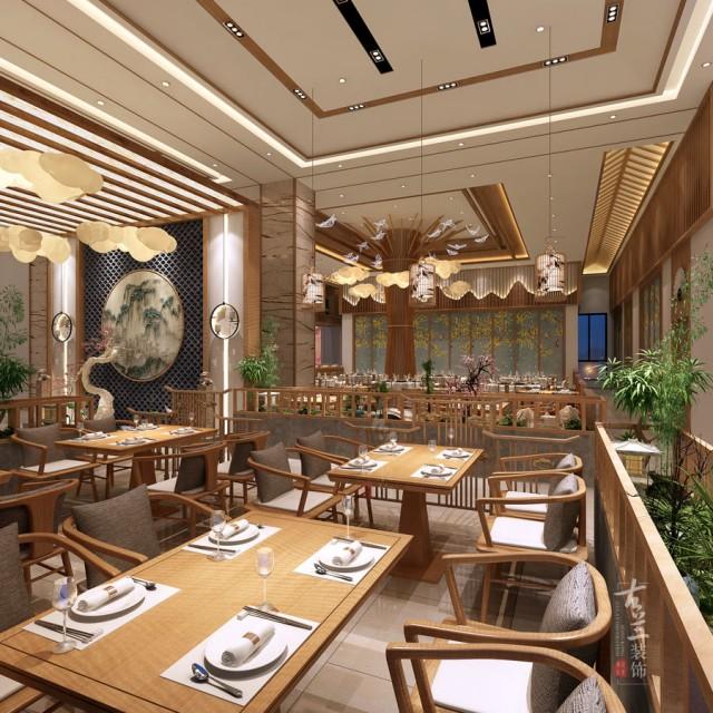 成都中餐厅设计-大厅效果图设计