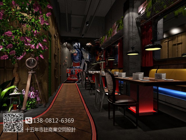 江西餐厅设计公司,南昌自助餐厅设计,南昌专业餐厅设计公司