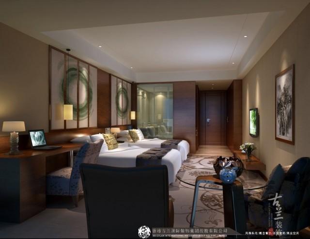 项目说明:根据我们前期的SWOT分析,对该酒店的优势、劣势、机遇、威胁进行分析,得出该酒店的品牌定位。以中档精品商务特色文化酒店。设计手法将利用现代的文化元素提炼运用,提炼出成都特色旅游景点作成文化主题房,也可以提升客户在营销、广告、体验方面的竞争力。
