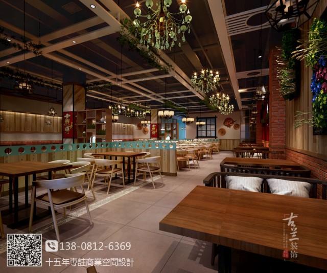 南宁中餐厅设计装修公司|一品红家常菜中餐厅设计公司哪家好