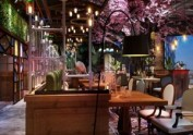 泉州主题餐厅设计公司-工业风主题音