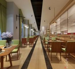 泉州中餐厅设计装修公司-现代风格中