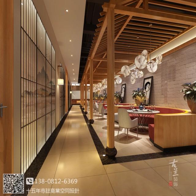 泉州中餐厅设计装修公司-现代风格中餐厅装修图