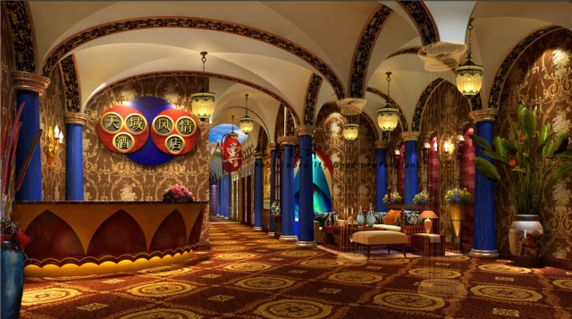 项目名称: 天域风情酒店  地址: 成都市红牌楼九峰国际