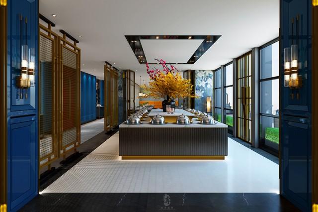 咸阳专业酒店设计公司|君子兰国际大酒店