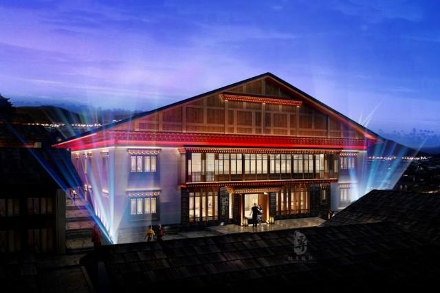项目名称:颂赞云尚精品度假酒店 项目地址:香格里拉独克宗古城金龙街衙门廊2号 ,近四方街、月光广场