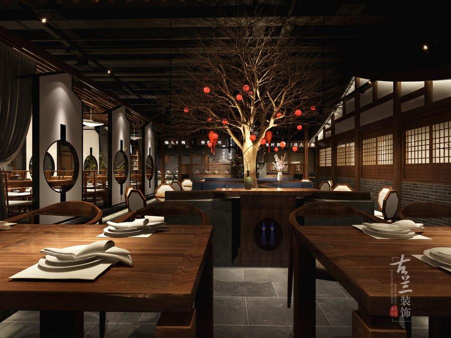 贵阳绘画设计|伊宁餐厅川渝中餐厅设计美术项目印象设计图图片