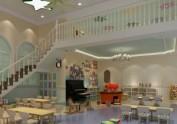郑州幼儿园设计-1100平方现代风格幼