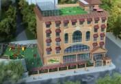 郑州幼儿园设计-1500平方现代风格幼