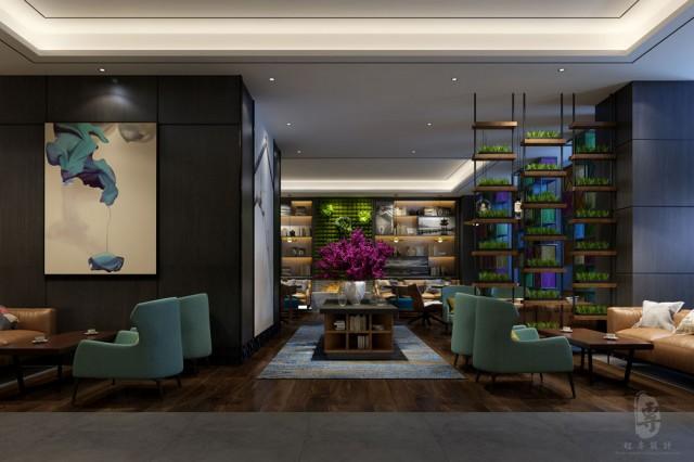在设计过程中要用创新的思维模式来主导设计,打破传统的陈旧的空间设计方式,给整个四星级酒店设计增加一些别样的艺术空间美感。