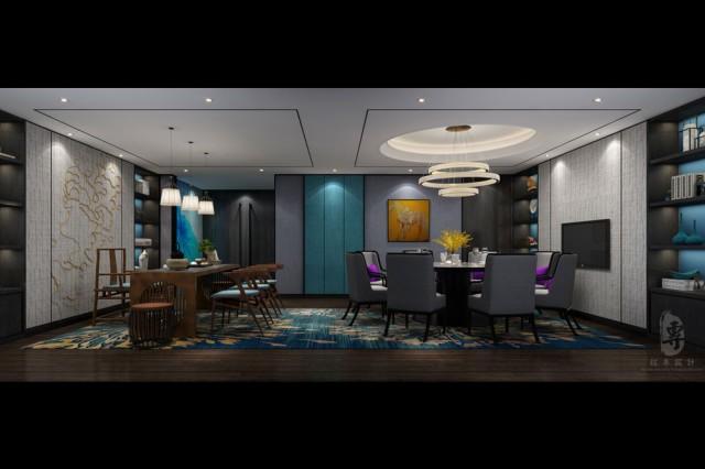 四星级酒店将室内外空间结合在一起,可以让整个四星级酒店更具空间感,视线更有延展性。设想一下,室内室外空间融合在一起,从外面看酒店内部,一整面的落地窗,玻璃前方是一个水流缓慢的静水池,回头,是一处高大的极富韵味的带有储水池及植物的水墙。既是室外一景,由于酒店内部空间完美的结合在一起,共同构成了一幅岁月静好的美好画面。