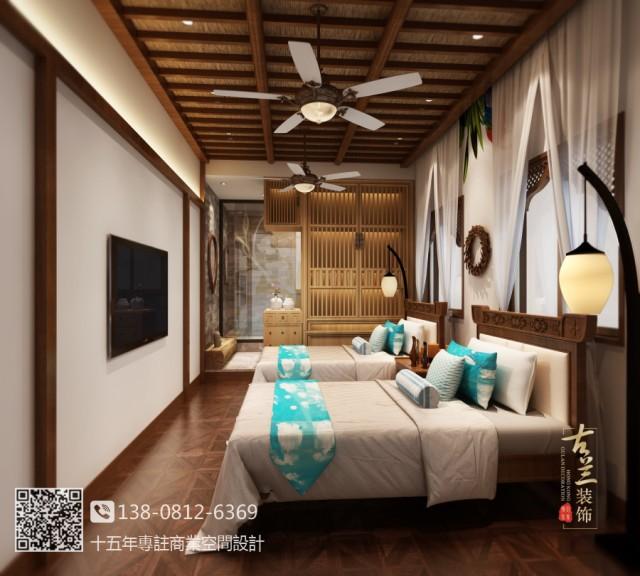 成都龙湖源著家庭式民宿装修设计公司