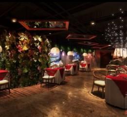 贵阳餐厅设计|荒石音乐主题餐厅设计