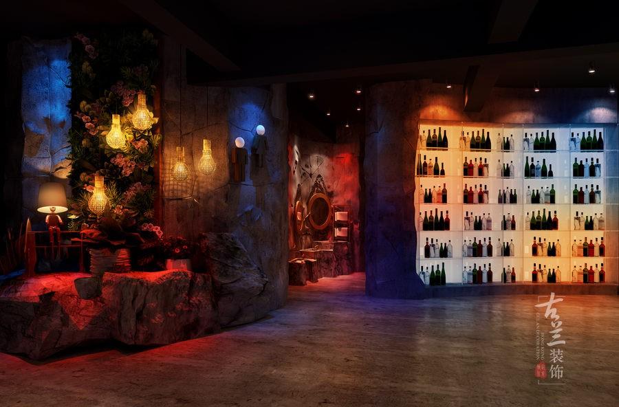 贵阳餐厅设计|荒石主题音乐案例设计餐厅cass绘制地形图如何图片