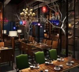 商务休闲咖啡厅设计 成都咖啡厅设计