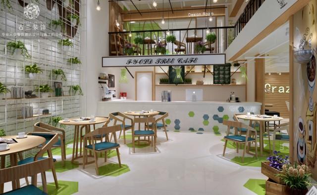 设计说明:在高新区林立的写字楼钢筋森林里,喧闹的主干道之间,偶尔会制造出一条僻静的小路,闹中取静的角落里就是我们享受安静和阳光的所在。囧囧小屋咖啡馆打造的是一种更适合都市白领的惬意空间。本案计划采用大胆的色彩划分,以原木色、绿色、白色为主色调打造一个干净、安静的现代风格的咖啡馆。摒弃工业风的审美疲劳,通过设计的独特性来打造一个差异化的咖啡文化。   项目名称:成都囧囧小屋咖啡馆  项目地址:成都高新区吉泰五路118号天合凯旋广场2栋附9号