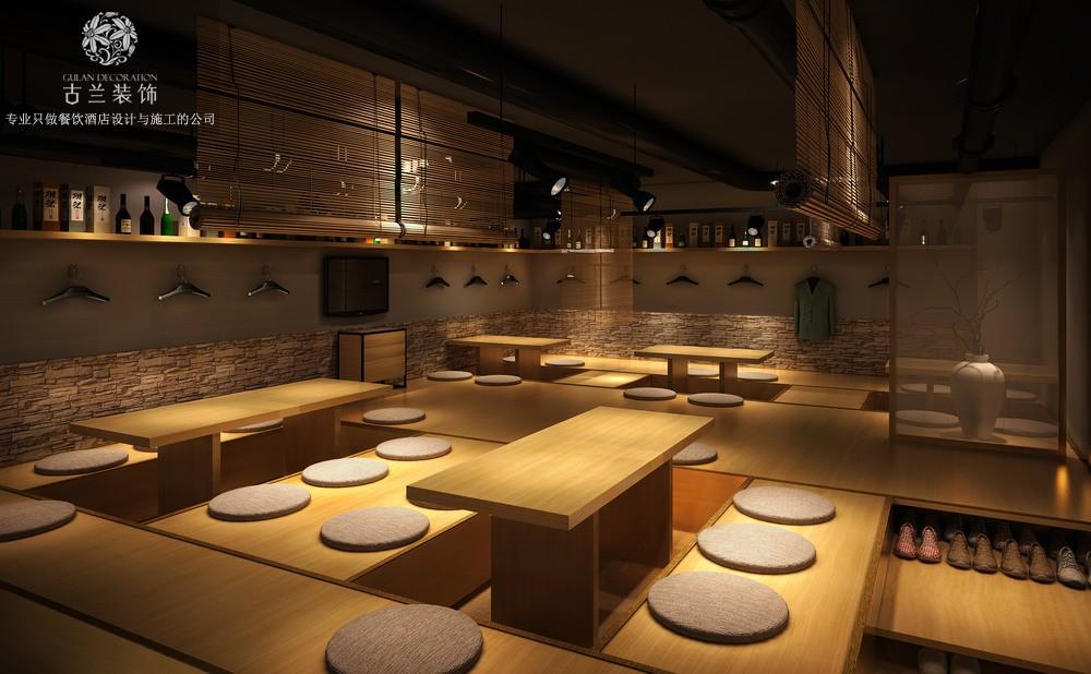 【凛火日式料理店】- 餐厅设计 | 成都知名室内设计公司