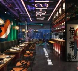 贵阳餐厅设计 | 鱼乐汽车烤鱼餐厅设