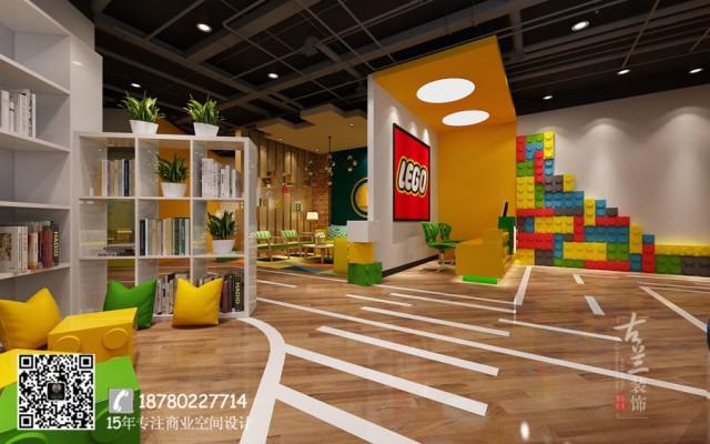 合肥早教中心装修公司|成都乐高俱乐部设计(大悦城店)|专业早教中心设计案例