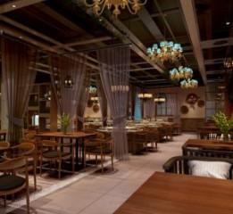 成都中餐厅装修|成都中餐厅设计-一品红中餐厅