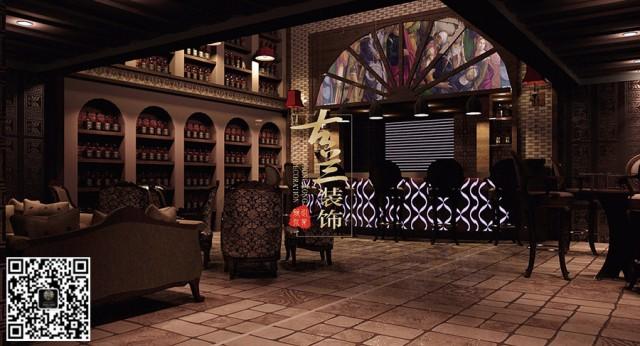 成都酒吧装修公司|绿地保利酒吧|专业酒吧设计案例