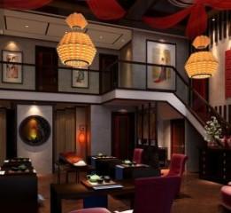 成都中餐厅设计|成都中餐厅装修-【秀色唐朝私人中餐厅】