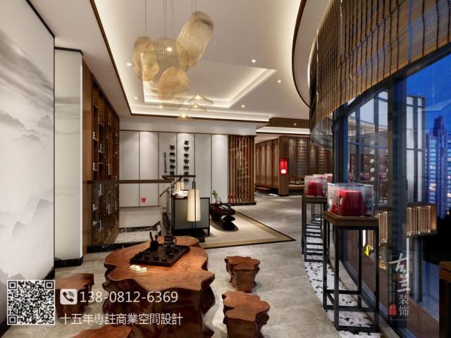 青岛茶楼设计装修公司-陈升号茶楼茶艺馆设计图
