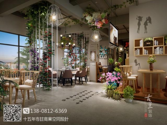 邛崃花园餐厅位于邛崃新城区河对面的高档住宅二楼商铺,客户力求打造花园式用餐和休闲环境。融入现代时尚的设计理念,努力打造邛崃新城区新地标。