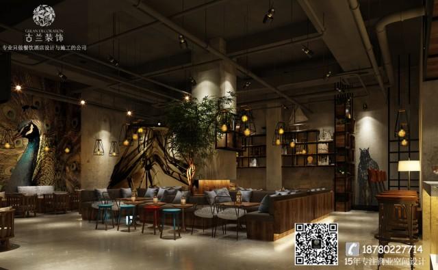 TID咖啡馆的经营理念是白天卖咖啡,晚上清酒吧。这种独特的定位,自然在装饰上就要显得与众不同了。 TID的门面设计感十足,英文字母铺满了门帘,站在门口就像是在看一张趣味十足的英文报纸一样。据悉这家  咖啡厅是一群医药工作人员突发奇想开的,所以在设计师在装饰上也添上了达尔文的头像!