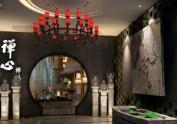 【南京餐厅设计装修】禅心禅茶,成都