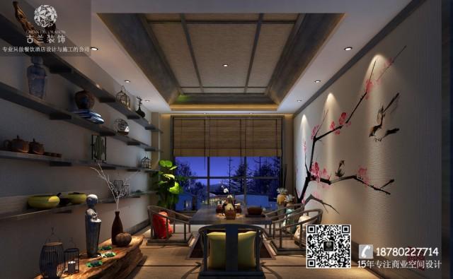 禅心禅茶|南京餐厅设计公司|专业餐厅装修案例