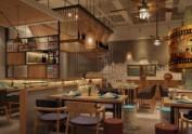 兰州中餐厅设计公司|双流一加亿中餐