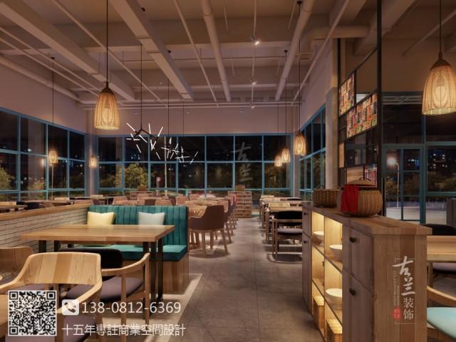兰州中餐厅设计公司|双流一加亿中餐厅装修设计公司