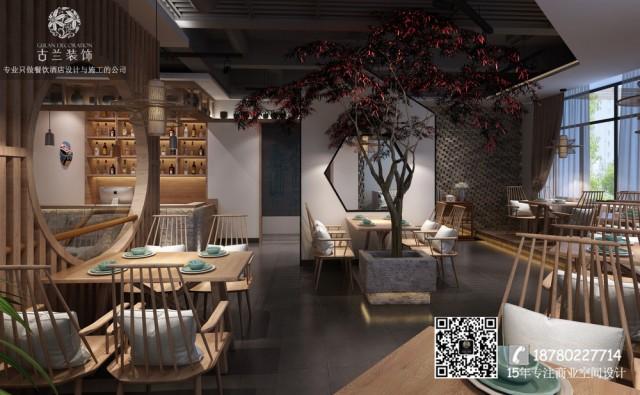 合肥餐厅装修公司|蓉城小馆中餐厅设计|专业餐厅设计案例