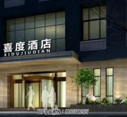 开封酒店设计-3000平方快捷商务酒店